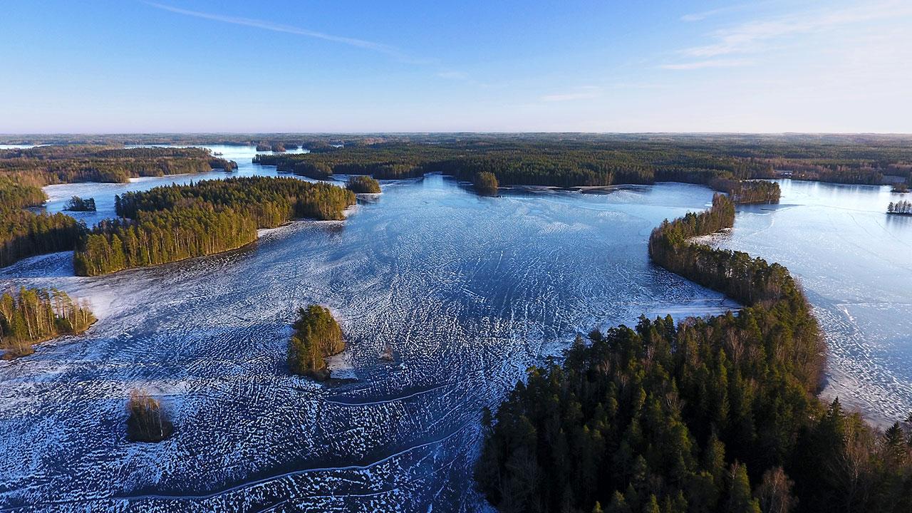national park landscape finland