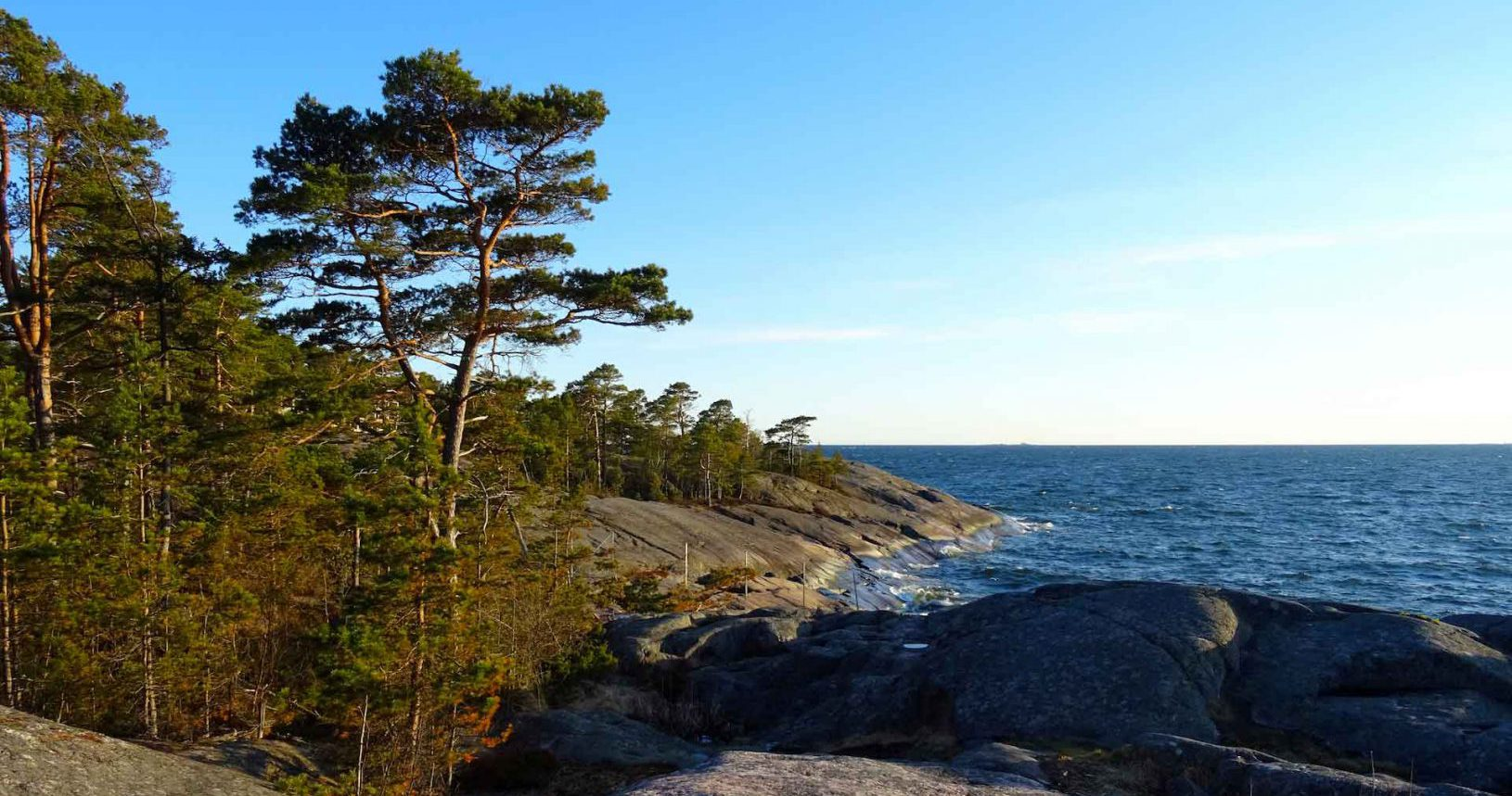 Archipelago rocks in Finland