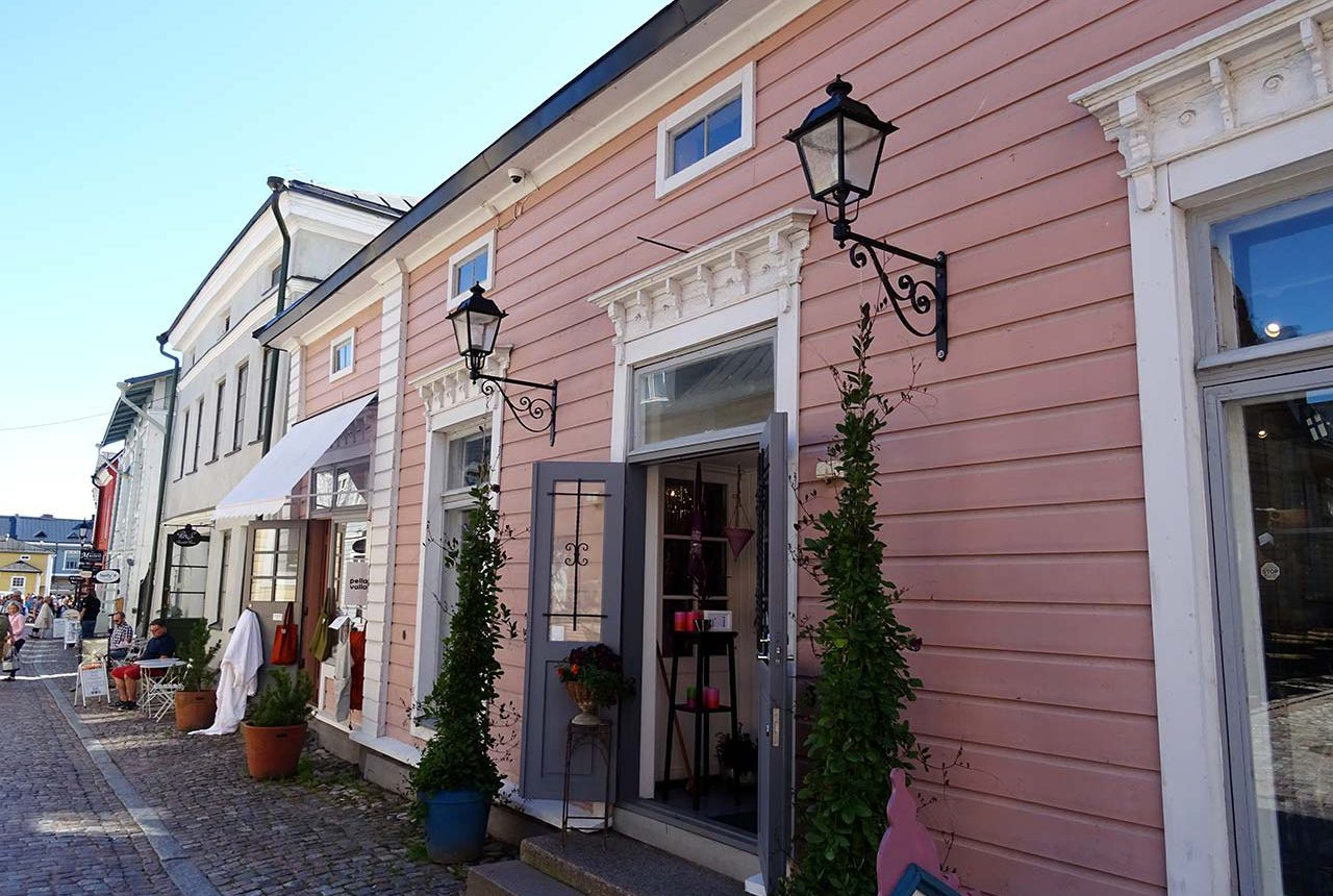 Local store in old porvoo