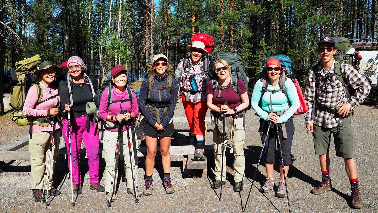 hiking tour in finland for small group